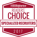 Canadian HR Reporter 2017 Reader's Choice Awards - Specialized Recruiters
