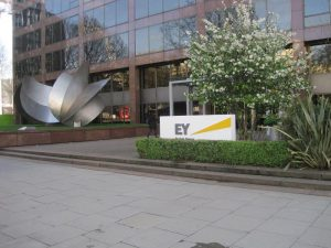 outside EY building