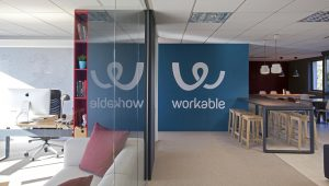 inside Workable office